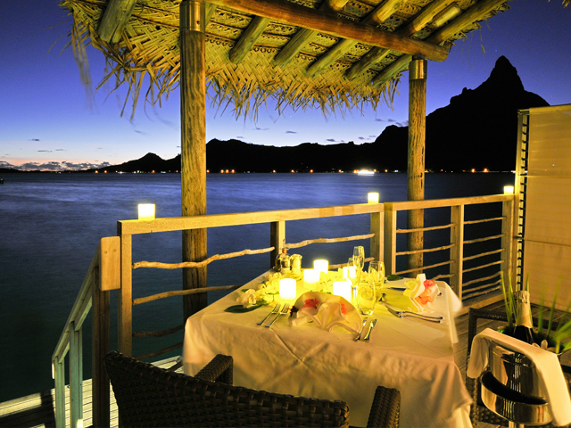 Romantic Dinner in Our Villa